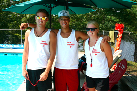Head Lifeguard Head Lifeguard Justin with Lifeguards Anthony and Katie IMG_0045